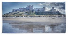 Bamburgh Castle 2 Beach Towel