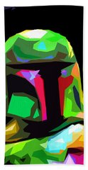 Boba Fett Star Wars Beach Towel by Daniel Janda