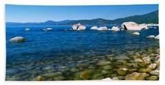 Boulders At The Coast, Lake Tahoe Beach Towel