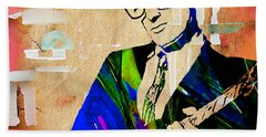 Buddy Holly Collection Beach Towel
