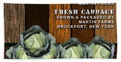 Cabbage Farm Beach Towel