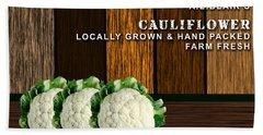 Cauliflower Farm Beach Towel