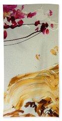 Cherry Blossoms I Beach Sheet