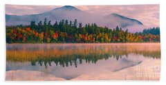 Connery Pond In Adirondack State Park Beach Towel