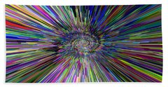 3 D Dimensional Art Abstract Beach Sheet