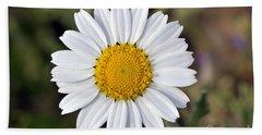 Daisy Flower Beach Sheet by George Atsametakis