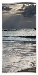 Evening At The Sea Beach Towel