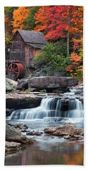 Glade Creek Grist Mill  Beach Sheet