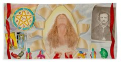 Invocation Of The Spectrum Beach Towel