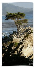 Lone Cypress Beach Towel
