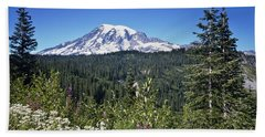 Mount Ranier Beach Towel
