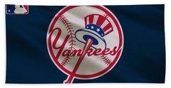 New York Yankees Uniform Beach Towel
