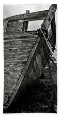 Old Abandoned Ship Beach Towel