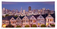 Beach Towel featuring the photograph Painted Ladies by Brian Jannsen