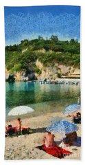 Paleokastritsa Beach Beach Towel