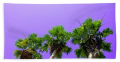 3 Palms Beach Towel by J Anthony
