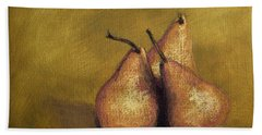 3 Pear Study Beach Towel