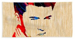 Ricky Nelson Collection Beach Sheet by Marvin Blaine