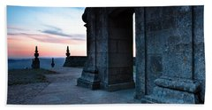 Beach Towel featuring the photograph Sanctuary by Edgar Laureano