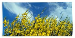 Beach Towel featuring the photograph Spring Wild Flowers by George Atsametakis