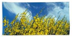 Spring Wild Flowers Beach Sheet by George Atsametakis