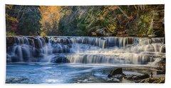 Squaw Rock - Chagrin River Falls Beach Towel