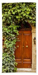 Tuscan Door Beach Sheet