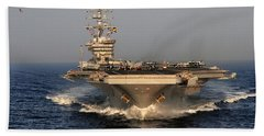 Uss Dwight D. Eisenhower Beach Sheet