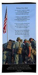 Veterans Remember Beach Towel