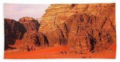 Wadi Rum Desert, Jordan Beach Towel