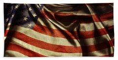 American Flag  Beach Sheet