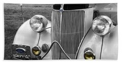 '36 Ford Coupe Beach Towel