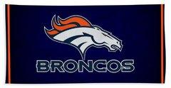 Denver Broncos Beach Towel