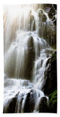Beach Sheet featuring the photograph Fairy Falls by Patricia Babbitt