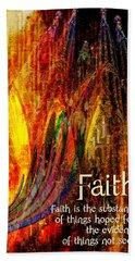 Faith Beach Towel