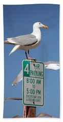 Beach Sheet featuring the photograph 4 Hour Parking by E Faithe Lester