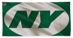 New York Jets Uniform Beach Towel