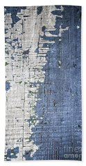 Old Painted Wood Abstract No.4 Beach Towel