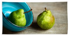 Pears Beach Sheet by Nailia Schwarz