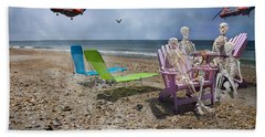 Search Party Beach Towel by Betsy Knapp