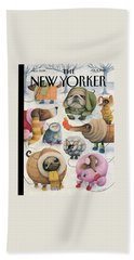 New Yorker February 8th, 2010 Beach Towel