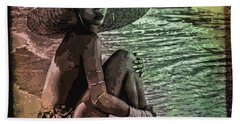 Rihanna Beach Towel by Svelby Art