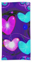 472 -  Valentine Hearts  ... Beach Towel