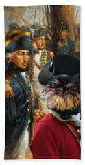 Brussels Griffon - Belgium Griffon Art Canvas Print Beach Towel