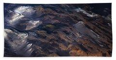 Beach Sheet featuring the photograph Aerial Photography by Gunnar Orn Arnason