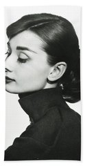 Audrey Hepburn Beach Towels
