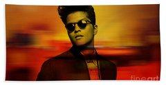 Bruno Mars Beach Sheet