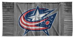 Columbus Blue Jackets Beach Towel