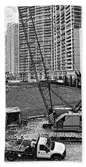 Construction Site-2 Beach Sheet