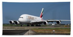 Emirates Airbus A380 Beach Towel